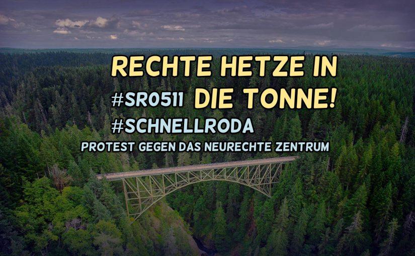 Rechte Hetze in die Tonne – Anreise aus Leipzig – #sr0511