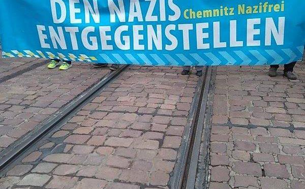 Gegen die JN-Demo in Chemnitz am 06.03.2016