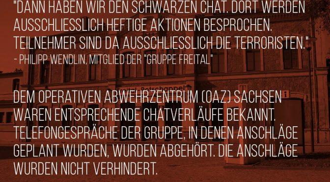 Bürgerwehr, Verfassungsschutz, Polizei