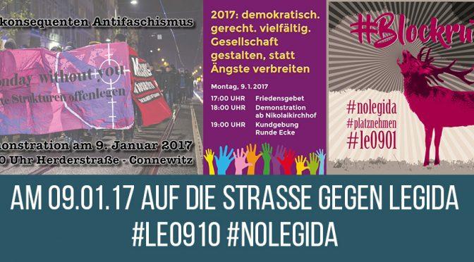 """Leipzig: """"Auf die Straße gegen Legida"""""""