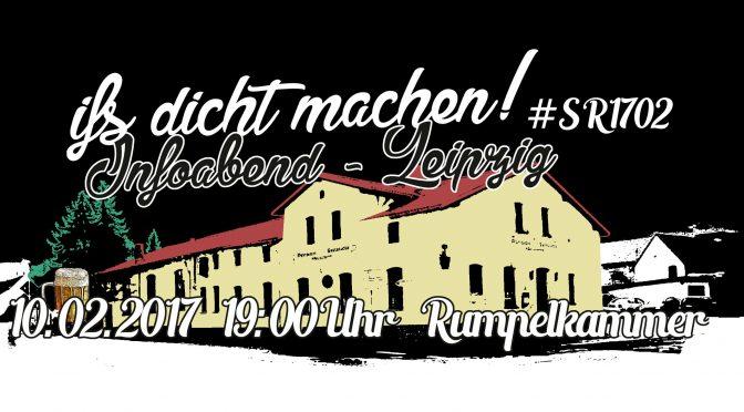 Leipzig: Infoabend IfS dicht machen!