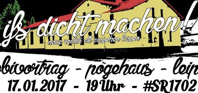 Leipzig: Mobi-Vortrag zu #SR1702