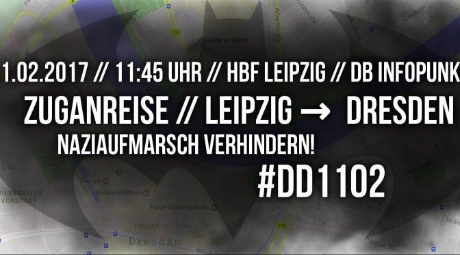 Dresden, Naziaufmarsch verhindern! #DD1102