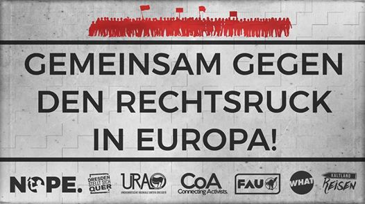 Gemeinsam gegen den Rechtsruck in Europa!