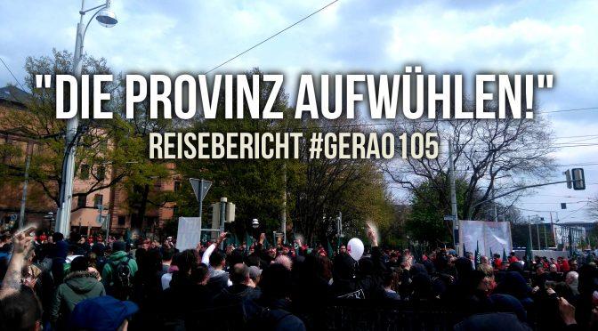 """Reisebericht: 1. Mai in Gera – """"Die Provinz aufwühlen!"""""""
