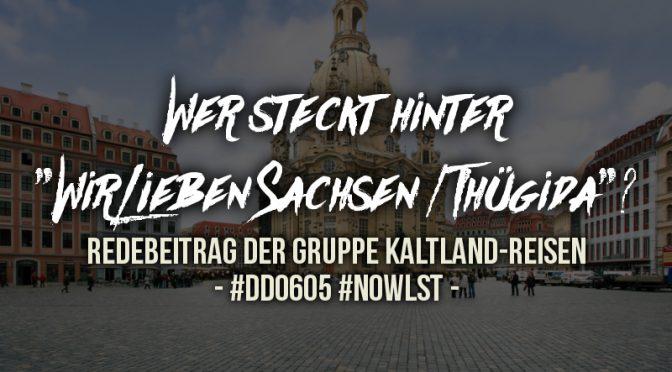 Wer steckt hinter Thügida? – Redebeitrag #DD0605